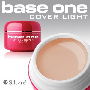 Silcare Żel Uv Base One Cover Light 15g
