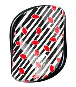 Tangle Teezer Salon Compact - Czerwone usta