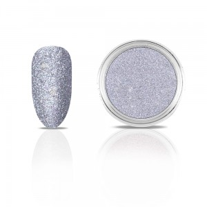 Efekt na paznokcie Metallic Diamond SILVER GREY