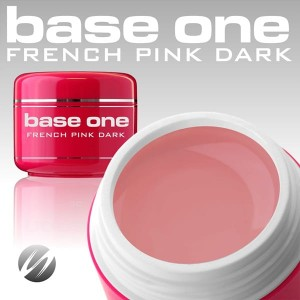 Silcare Żel Uv Base One French Pink Dark 15g