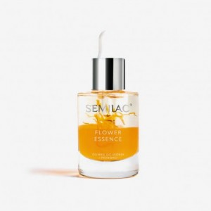 Semilac Oliwka do skórek i paznokci FLOWER ESSENCE ORANGE STRENGTH 10ml