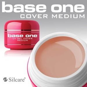 Silcare Żel Uv Base One Cover Medium 50g