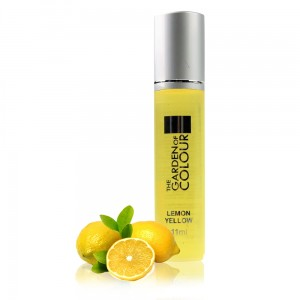 Oliwka do paznokci i skórek lemon yellow The Garden of Colour Roll On 11ml