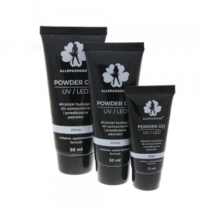 Powder Gel White 50ml akrylożel