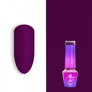 Molly Lac 113 Welcome to Ibiza Grape Sorbet lakier hybrydowy 5ml