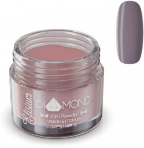 Puder do manicure tytanowego Diamond Purple Chocolate DC911 23g