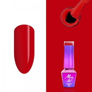 Molly Lac 08 Glamour Women Red Carpet lakier hybrydowy 5ml