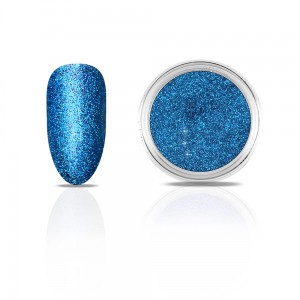 Efekt na paznokcie Metallic Diamond INTENSE BLUE