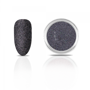 Efekt na paznokcie Metallic Diamond DARK SAND