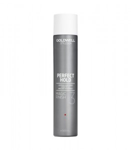 Goldwell - lakier nabłyszczający - Magic Finish Spray 3 500ml
