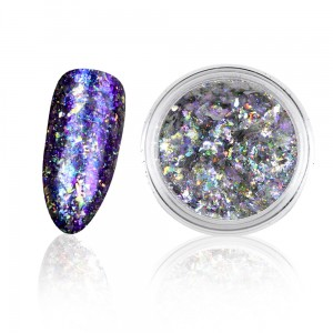 Wonder nails Diamond Star Blue - Holographic nails 0,3g