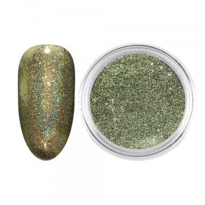 02. Magic Rainbow Dirty Gold Holographic - 0,5g