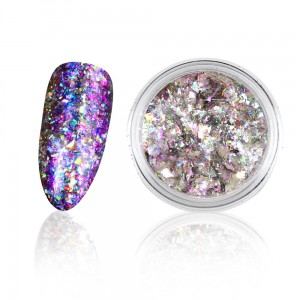 Wonder nails Diamond Star Violet - Holographic nails 0,3g