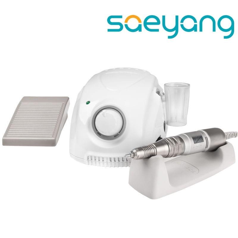 tani oszczędzać sprzedaż online Saeyang Frezarka do manicure i pedicure Marathon 3 Champion White + H200